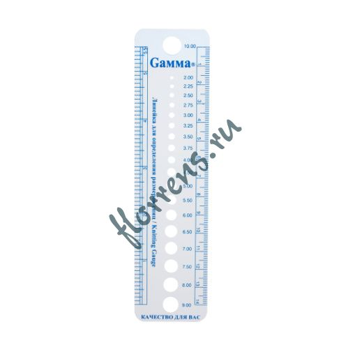 Линейка для определения размера спиц Gamma