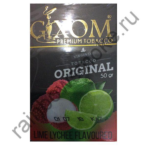 Gixom Original series 50 гр - Lime Lychee (Лайм Личи)