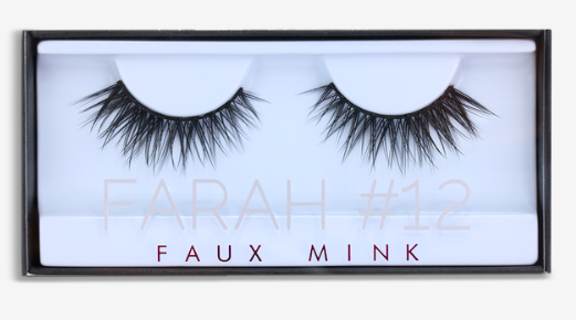 Ресницы Huda Beauty -  Farah Lashes #12