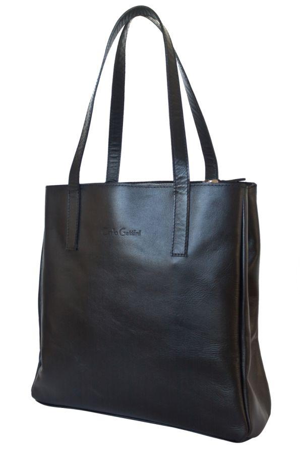 Кожаная женская сумка Carlo Gattini - Vietto black