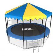 Батут Unix line 10 ft outside с крышей 603