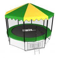 Батут Unix line 12 ft outside с крышей 605