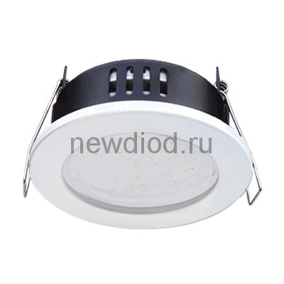Светильник встраиваемый герметичный GX53R-IP-RW-standard металл под лампу GX53 230В белый IP65 IN HOME