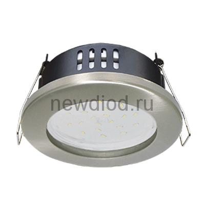 Светильник встраиваемый герметичный GX53R-IP-RC-standard металл под лампу GX53 230В хром IP65 IN HOME
