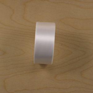 Атласная лента, ширина 38-40 мм, 25 ярдов, цвет белый