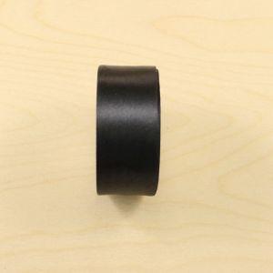 Атласная лента, ширина 38-40 мм, 25 ярдов, цвет черный