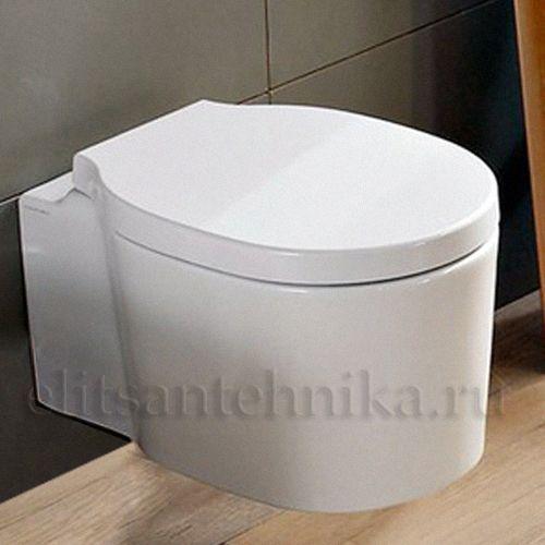Унитаз подвесной Scarabeo Bucket 8812/CL