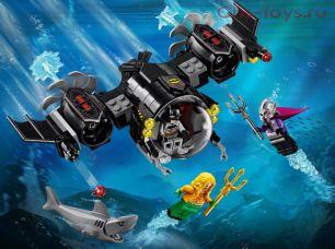Конструктор Lari Супер герои Подводный бой Бэтмена 11233 (76116) 201 дет