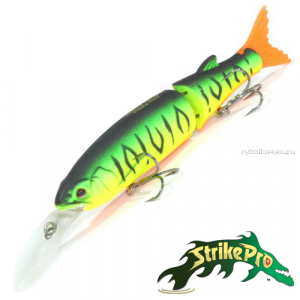 Воблер Strike Pro Glider-X 105L EG-157L 105 мм / 14,4 гр / Заглубление: 1,5 - 3,5 м / цвет: GC01S