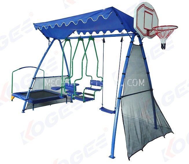 Детский уличный игровой комплекс 5 в 1 SPSE-2400-ABCTR-3