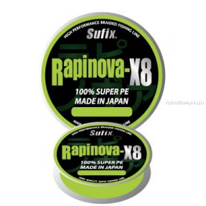 Шнур плетеный Sufix Rapinova X8 150 м / цвет: light green