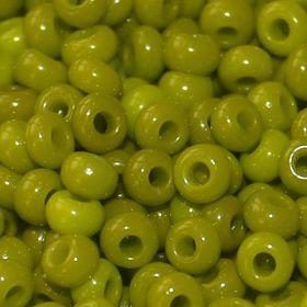 Бисер чешский 53430 непрозрачный оливковый Preciosa 1 сорт