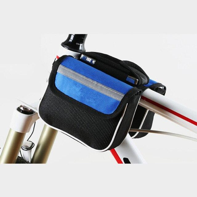 Двойная Велосипедная Сумка С Водоотталкивающим Эффектом, Цвет Синий