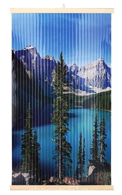 Картина обогреватель на стену Озеро 400Вт