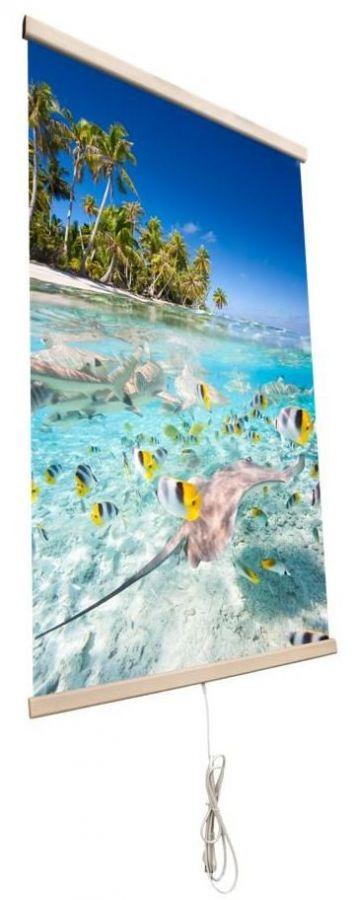 Картина обогреватель на стену Тропические Рыбки 400Вт