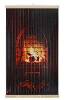 Картина обогреватель на стену Каменный Камин 400Вт