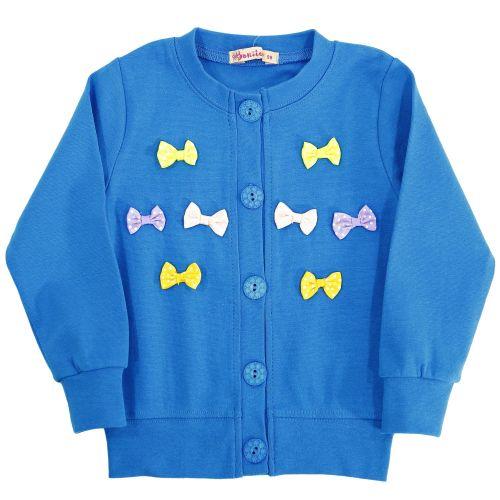 Кардиган для девочек 3-6 лет Bonito голубой