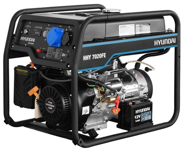 Бензиновая электростанция Hyundai HHY 7020FE