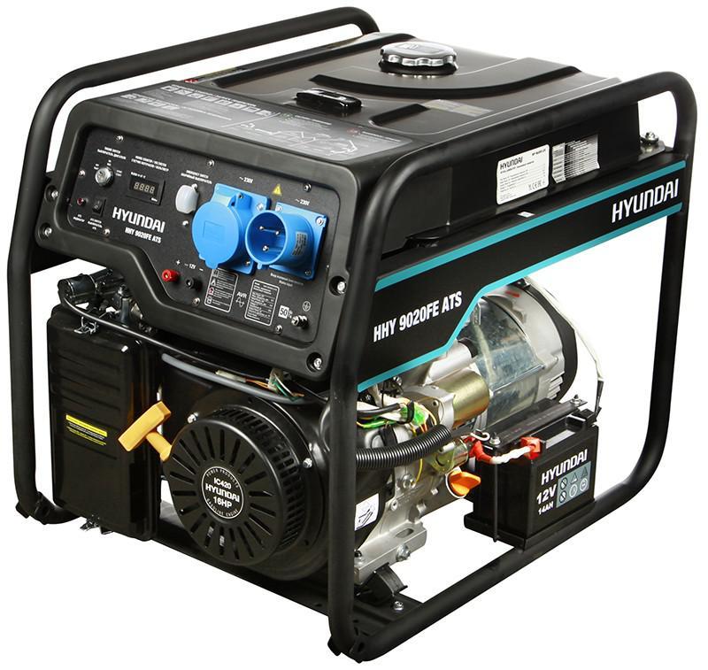 Бензиновая электростанция Hyundai HHY 9020FE ATS