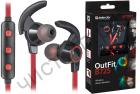 Bluetooth гарнитура стерео DEFENDER OutFit B725 черный+красный