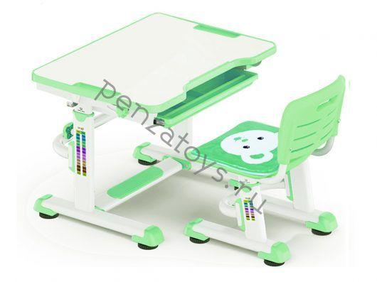 Комплект Mealux Парта и стульчик BD-08 Teddy с пеналом