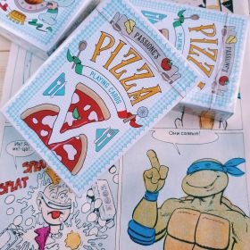 Дизайнерские карты Passione's Pizza Playing Cards by LPCC