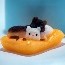 Котята на подушке 3D