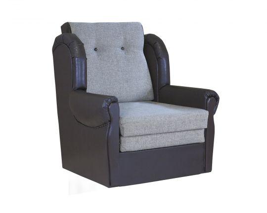 """Кресло-кровать """"Классика М""""   шенилл серый"""