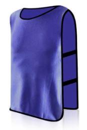 Манишка футбольная взрослая Фиолетовая