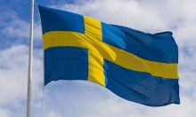 Флаг Швеции государственный 90х150 см