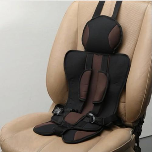 Детское бескаркасное автокресло Child Car Seat коричневое