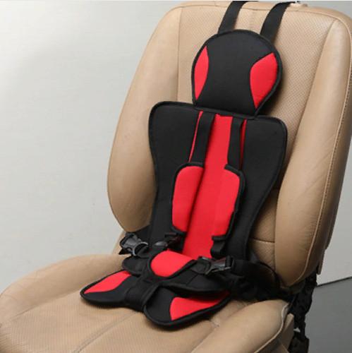 Детское бескаркасное автокресло Child Car Seat красное