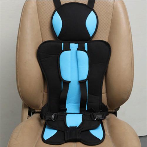 Детское бескаркасное автокресло Child Car Seat голубое