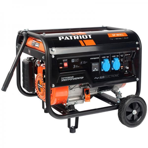 Бензиновая электростанция PATRIOT GP 3810L (474101545)