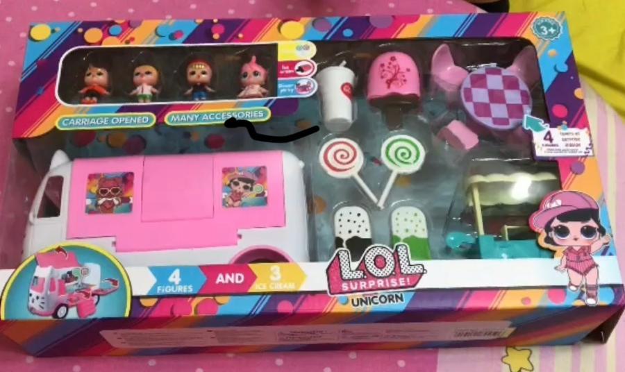 Автобус с куклами Лол и аксессуарами