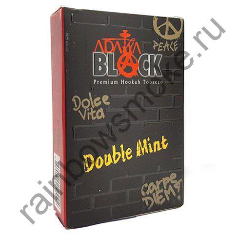 Adalya Black 50 гр - Double Mint (Двойная Мята)