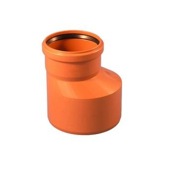 Переход ПВХ (редуктор) для наружной канализации 160х110