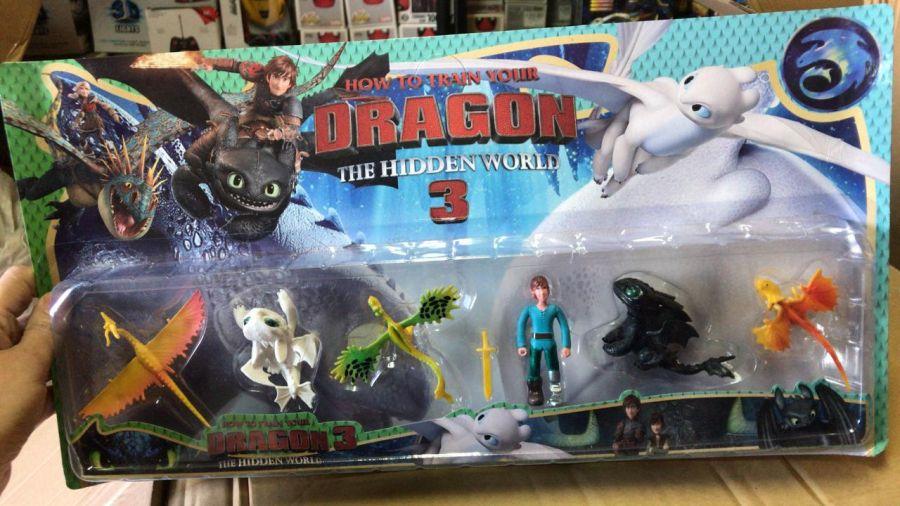 """Набор героев """"Как приручить дракона"""""""