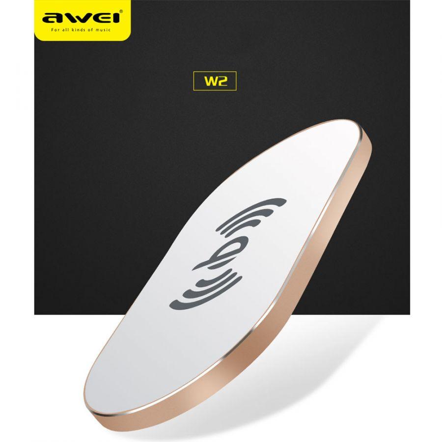 Беспроводная зарядка Awei W2