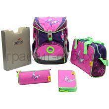 Ранец с наполнением Derdiedas Ergoflex Superlight Розовая бабочка 650г 8403076