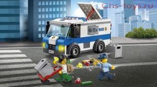Конструктор Lari Город  Ограбление инкассаторской машины 10654 ( 60142)  150 дет