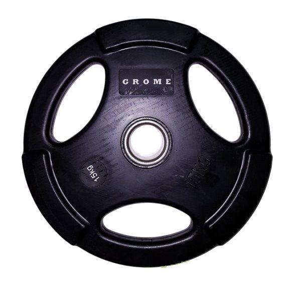 Диск GROME WP074 BLACK-15 кг