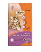 Мнямс Hairball&Indoor Сухой корм с ягненком для домашних кошек для выведения комков шерсти из желудка 0,4 кг
