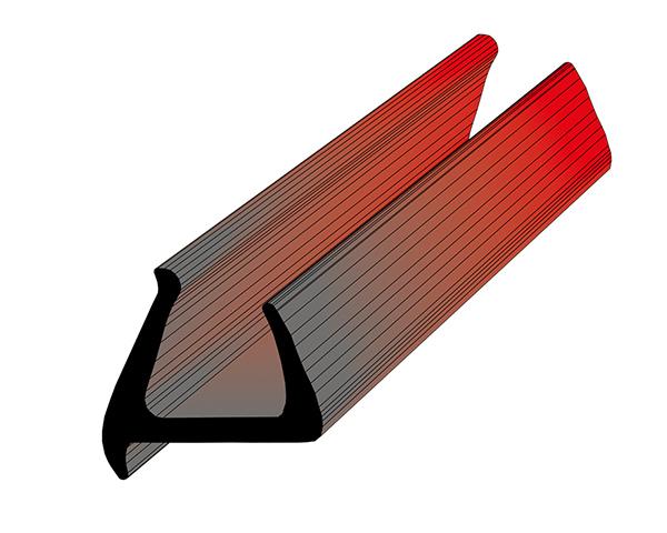 Профиль уплотнительный L=2.6 м/п ширина 34 мм