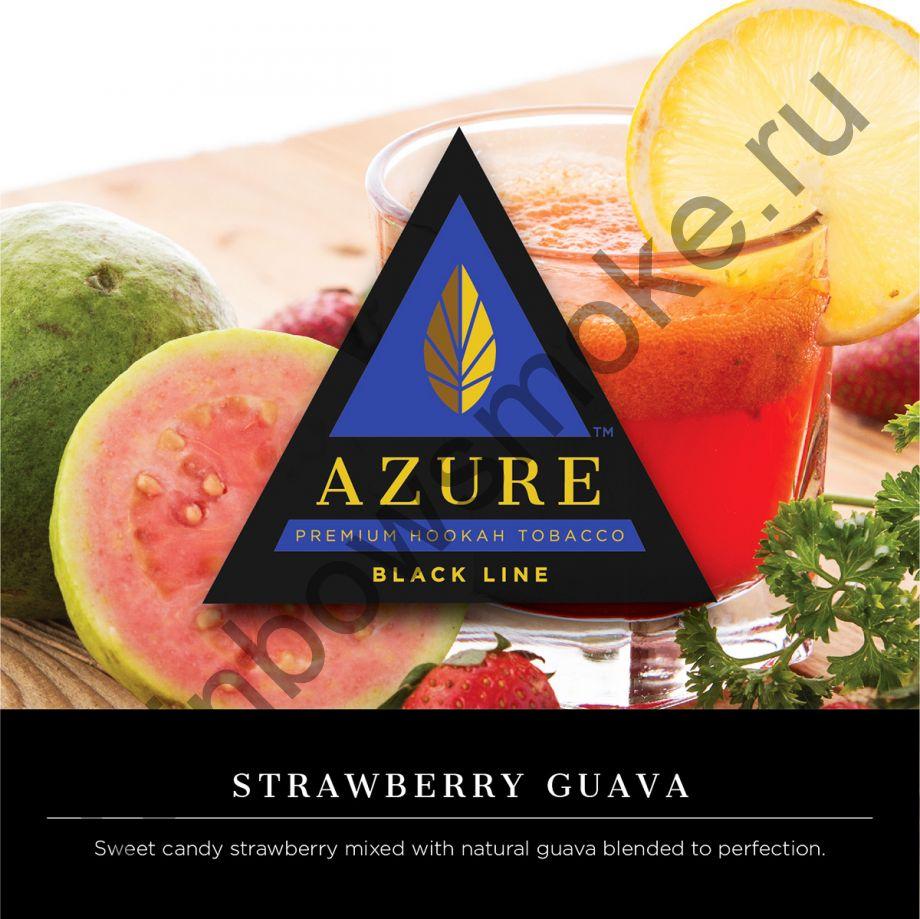 Azure Black 50 гр - Strawberry Guava (Клубника и Гуава)