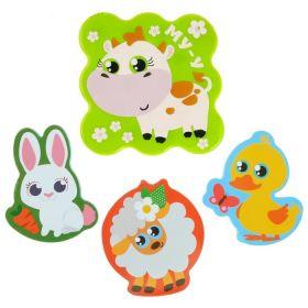Набор игрушек для ванны «Домашние животные»