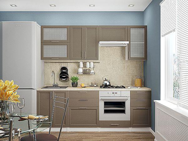 Кухня Сканди-02 Cappuccino Wood