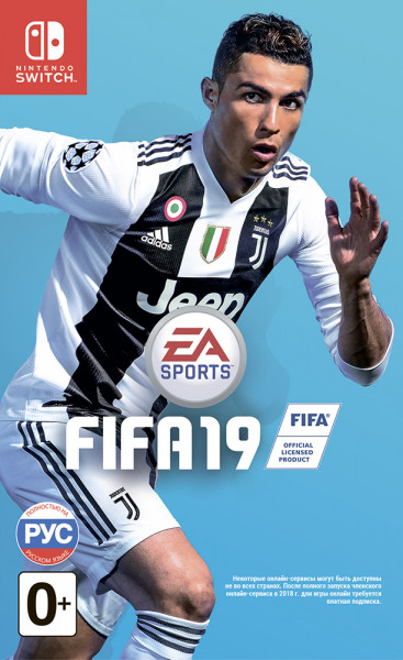 Игра Fifa 19 (Nintendo Switch)
