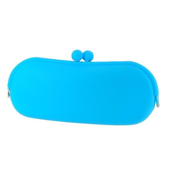 Стильный силиконовый кейс для очков - косметичка