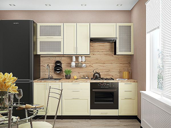 Кухня Сканди-02 Ivory Wood